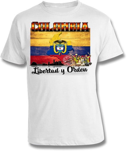 Country Colombia America S Favorite T Shirt Designs